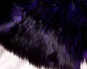 Rich Goth Bear Faux Fur   Brand New Fur