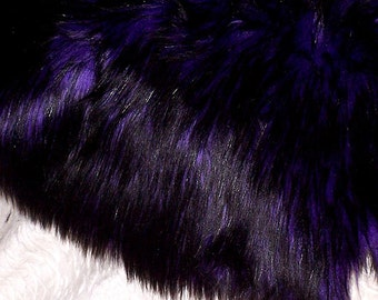 Rich Goth Bear Faux Fur   Brand New Fur
