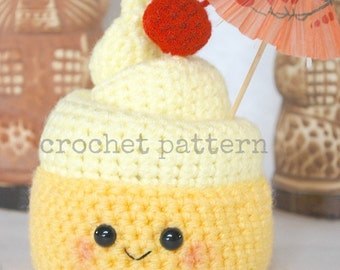 Amigurumi Fast Food : CROCHET PATTERN Amigurumi Fast Food Trio-crochet by youcute