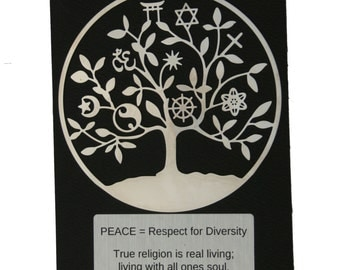 Tree of Life Universal Religion Ornament.  Ornament, Holiday Ornament, All religions