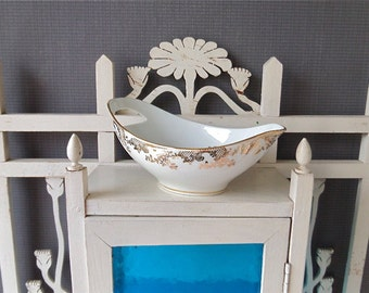 Vintage French LIMOGES Porcelain  Sauce Cup/ Cottage chic/ LIMOGES/ French porcelain