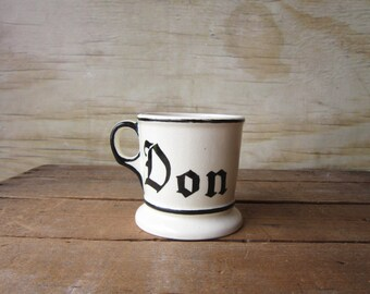 Handmade Mug - DON's Coffee Cup