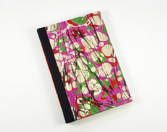 Modern Marbled Composition Book - Small Journal - Bullet Journal