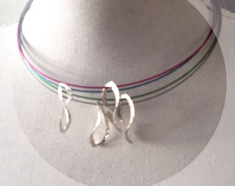 Whole sale chocker sterling silver with stanless steel