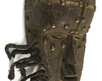 Bete Mask with Studs Ivory Coast African Art 96025