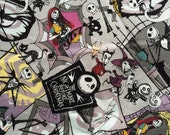 AUG special Nightmare Before Christmas fabric One yard