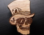 Grateful Sunglasses at Night - Wooden Hat Pin