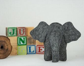 Elephant Sewing PATTERN, Felt Toy Pattern,  Baby Toy Pattern, Stuffed Animal Pattern, PDF Sewing Pattern, Soft Toy Pattern,