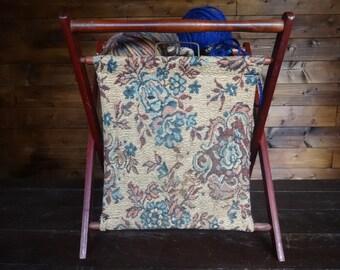 Vintage English Knitting Sewing Craft Needlecraft Craft Baskets circa 1960-70's / English Shop