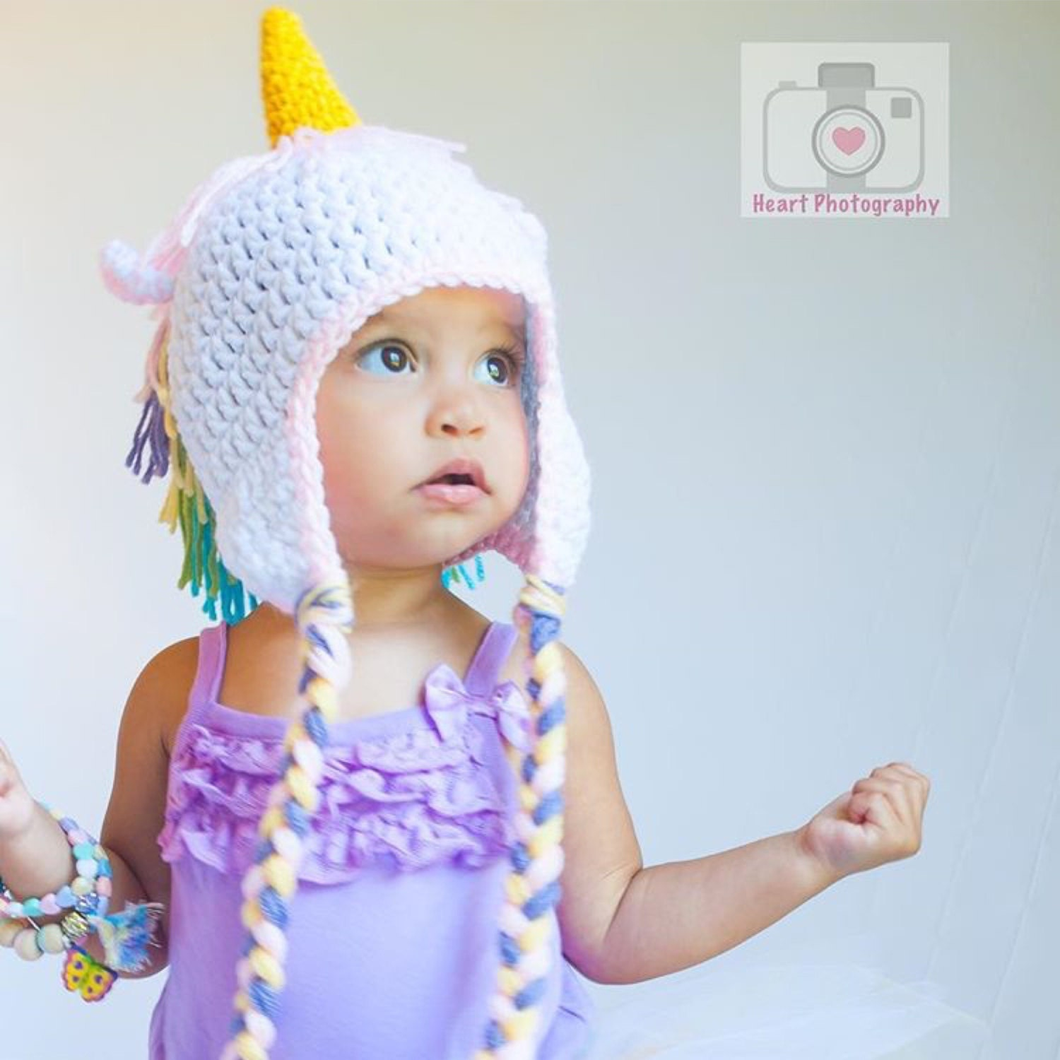 Crochet Unicorn Outfit : Crochet unicorn beanie baby unicorn newborn by PinkPoppiesStudio