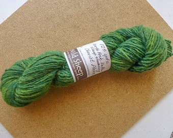 Blue Green  - Pure wool Cheviot yarn from Sheep Dog Trials.  125 yards.  (no. 235)