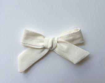 Cream Dainty Bow