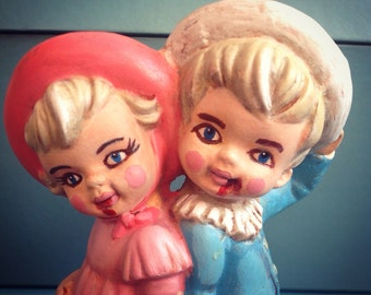 Lowbrow Pop Surrealism Original Dark Art Creepy Cannibal Children Figurines Sugar Horror Kitsch Macabre Doll OOAK