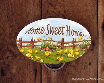 Wooden Home decor sign Home Sweet Home