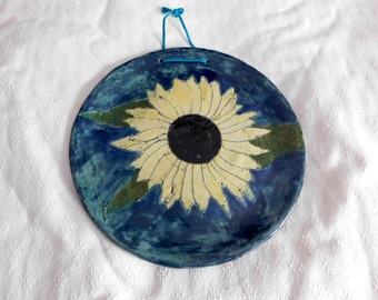 Sunflower on a Plate