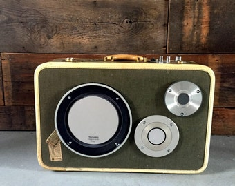 Rowley by HiFi Case - Portable Bluetooth Boombox Speaker