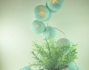 Plankton Blue Fairy String Lights Party Patio Wedding Decoration Wall Lights Home Decor Christmas Lights Bedroom Lights