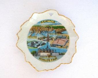 SEATTLE WORLDS FAIR Souvenir Dish