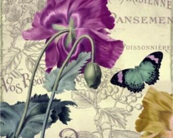 Petals of Paris IV - Cross stitch pattern pdf format