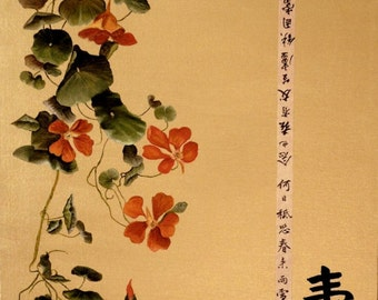 Asian Nasturtiums