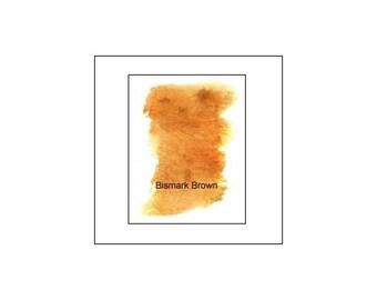 Peerless Transparent Watercolor Sheet - Bismark Brown