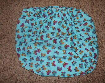 Multicolored Butterfly Fitted Pack N Play Sheet
