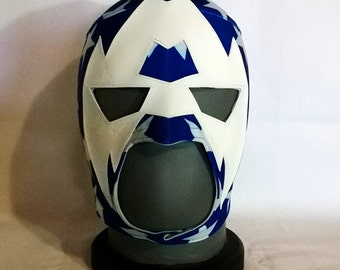 American Justice Mask Wrestling Style Mask Mardi Gras Superhero day of the dead halloween party mask masquerade Captain America mask