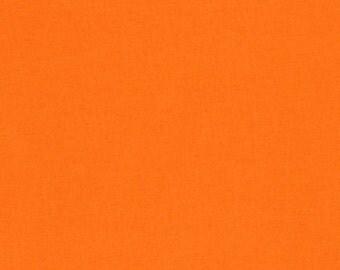 Orange, Kona Cotton, Robert Kaufman Fabrics, 1/2 Yard