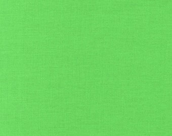 Sour Apple, Kona Cotton, Robert Kaufman Fabric, 1/2 Yard