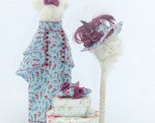 Miniature 1/12 Scale Ladies Dressed Manikin and Accessories