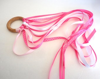 Hand Kite, Ribbon Streamer