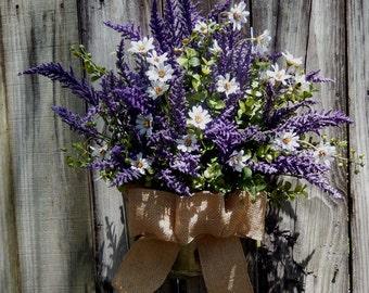 Summer Wreath - Spring Wreath - Wreath - Door Wreath - Outdoor Weath - Wreath For The Door - Country Wreath - Wreath Alternative