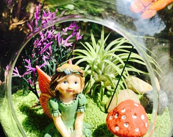 Fairy Garden Terrarium Kit   Small Bullet Air Plant Terrarium Kit ~ Fairy  Garden Kit ~ Fairy Choice ~ Miniature Garden Kit ~ Gift Idea