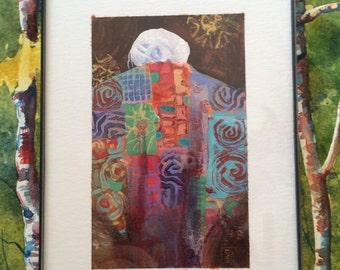 Quilt Art painting