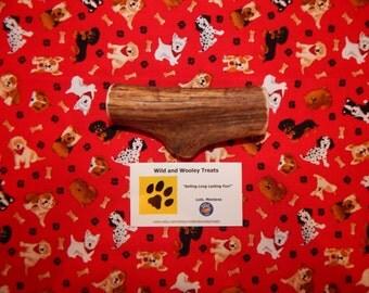 """Organic Large Elk Antler Dog Chew """"Made in Montana"""" (Lot C85)"""