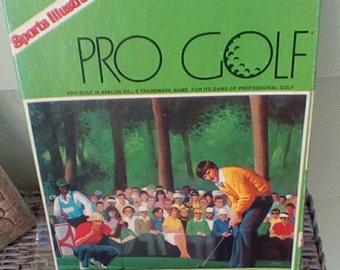 Vintage 1984 Avalon Sports Illustrated Pro Golf Game.  Y-259