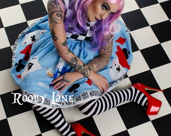Wedding Dress,Alice In Wonderland Special Occasion Dress By Rooby Lane,