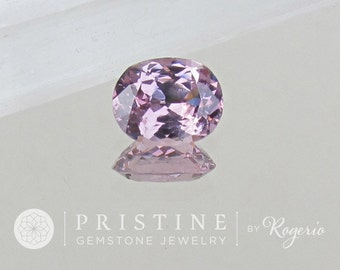 Lavender Purple Spinel 12 x 8.8 MM Oval Over 4 Carats Precision Cut