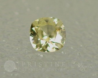 RESERVED Canary Yellow Sapphire Square Cushion Shape Loose Gemstone for Weddings Anniversary Ring or Engagement Ring September Birthstone