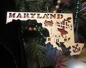 Maryland Ornament