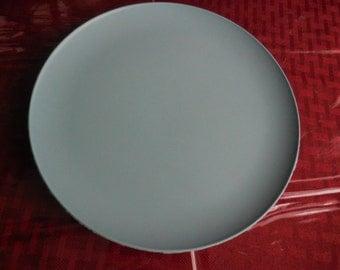 Vintage Melmac Quality Melamine Dinnerware Round Robin's Egg Blue Salad Plate 1950s Retro