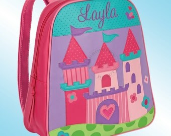 Backpack - Personalized and Embroidered - Go Go Bag - PRINCESS CASTLE