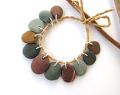 Reserved for SUE : Beach Stone Beads - Small COLOR MIX 14-20 mm
