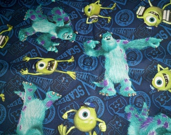 Monsters Inc, Batman child shorts w/pull on elastic waist