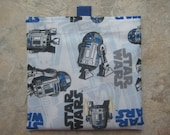 A Star Wars Favorite Character - Reusable Sandwich/Snack Bag with easy open tabs