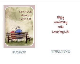 Anniversary Greeting Card for Spouse