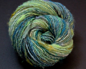 Luxury Art Yarn~Storytime~ Designer single ply,knitting, crochet,weave, felt