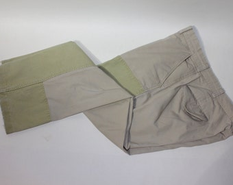 """vintage 1970's -C.C. Filson & Co.- Men's 'brush pants. Double knee and hem. Well worn and distressed. Made in USA. 38"""" Waist"""