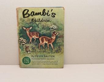 Bambi's Children  by Felix Salten  --  1950