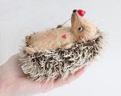 Baby Hedgehog Spikey - Teddy Hedgehog - 12cm